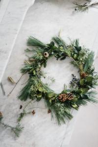 Vianočný veniec v troch krokoch